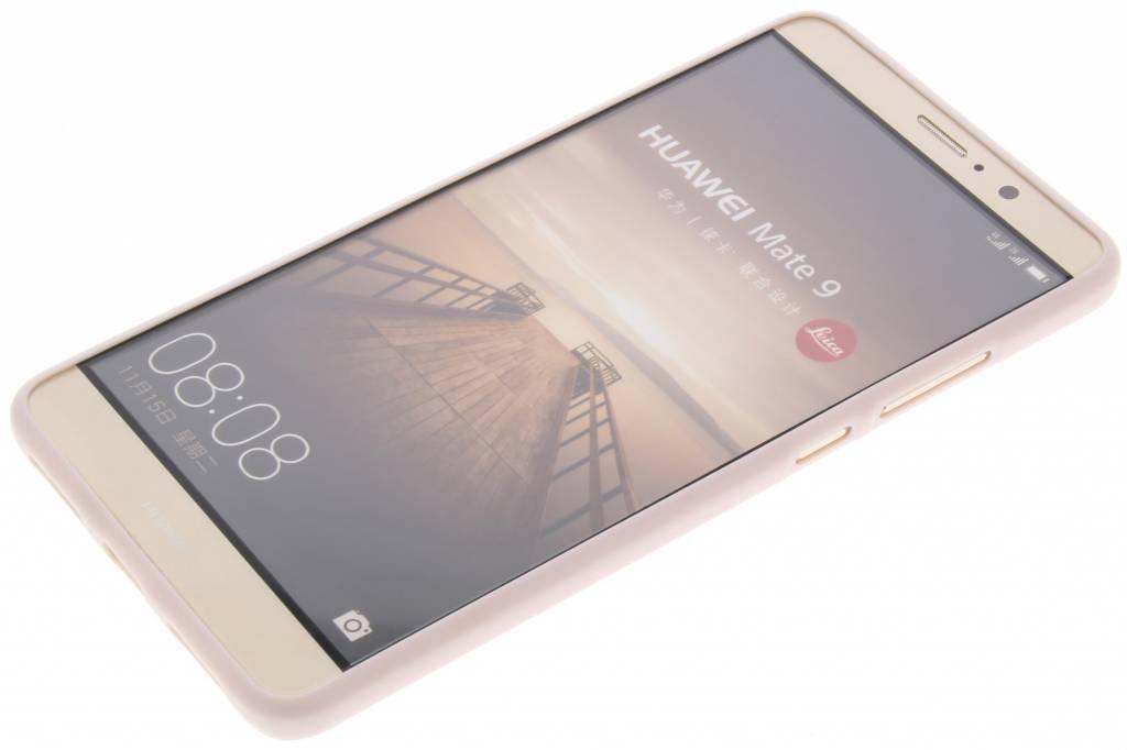 Etui En Tpu En Cuir Rose Pour Huawei Ascend Maté 9 9ddGU1JD