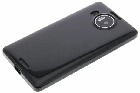 Cas De Gel Noir Pour Microsoft Lumia 950 Xl 7ZrLqt563