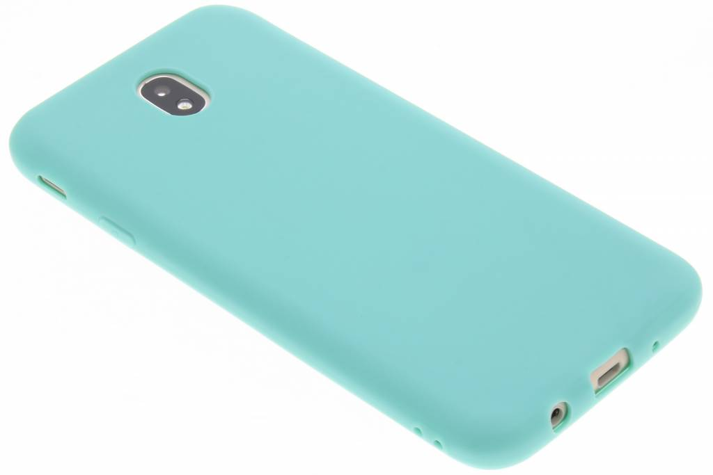 Mintgroen color TPU hoesje voor de Samsung Galaxy J7 (2017)