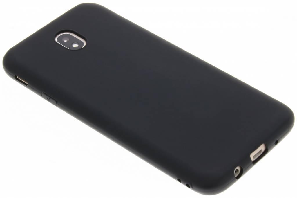 Zwart color TPU hoesje voor de Samsung Galaxy J7 (2017)