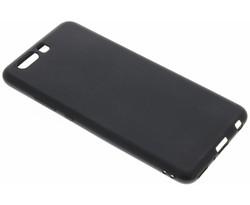 Zwart Color TPU hoesje Huawei P10 Plus