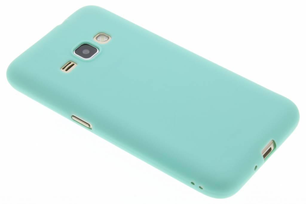 Mintgroen Color TPU hoesje voor de Samsung Galaxy J1 (2016)
