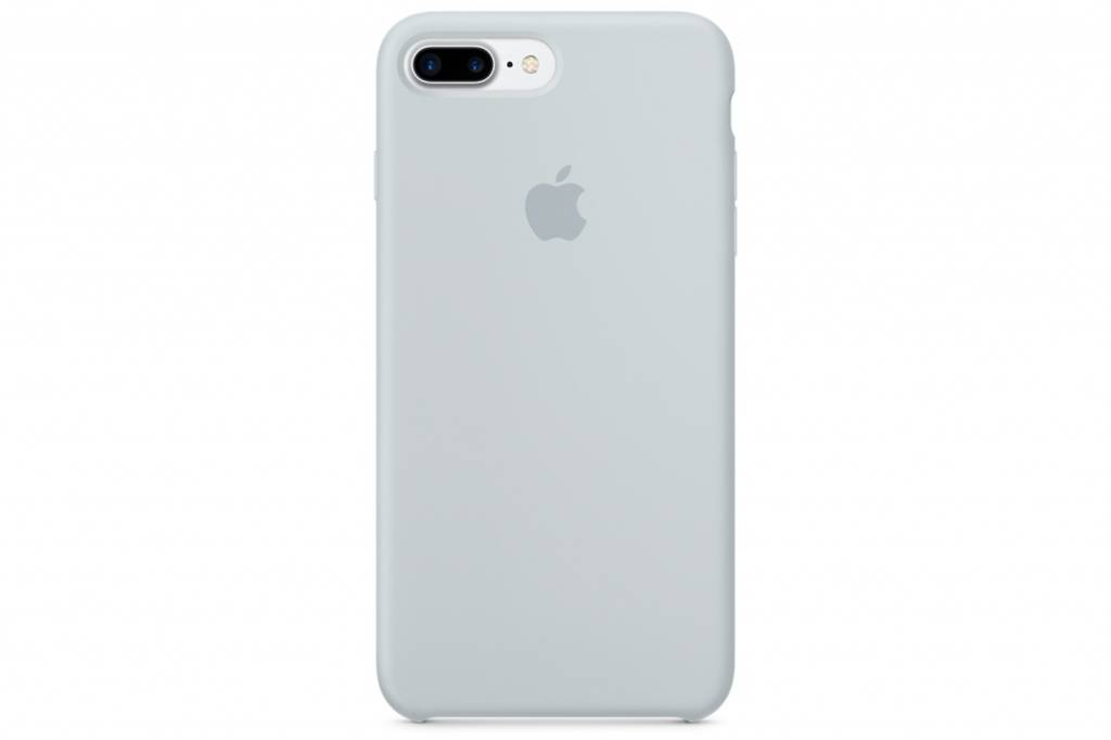Apple Lichtblauwe Silicone Case voor de iPhone 8 Plus / 7 Plus