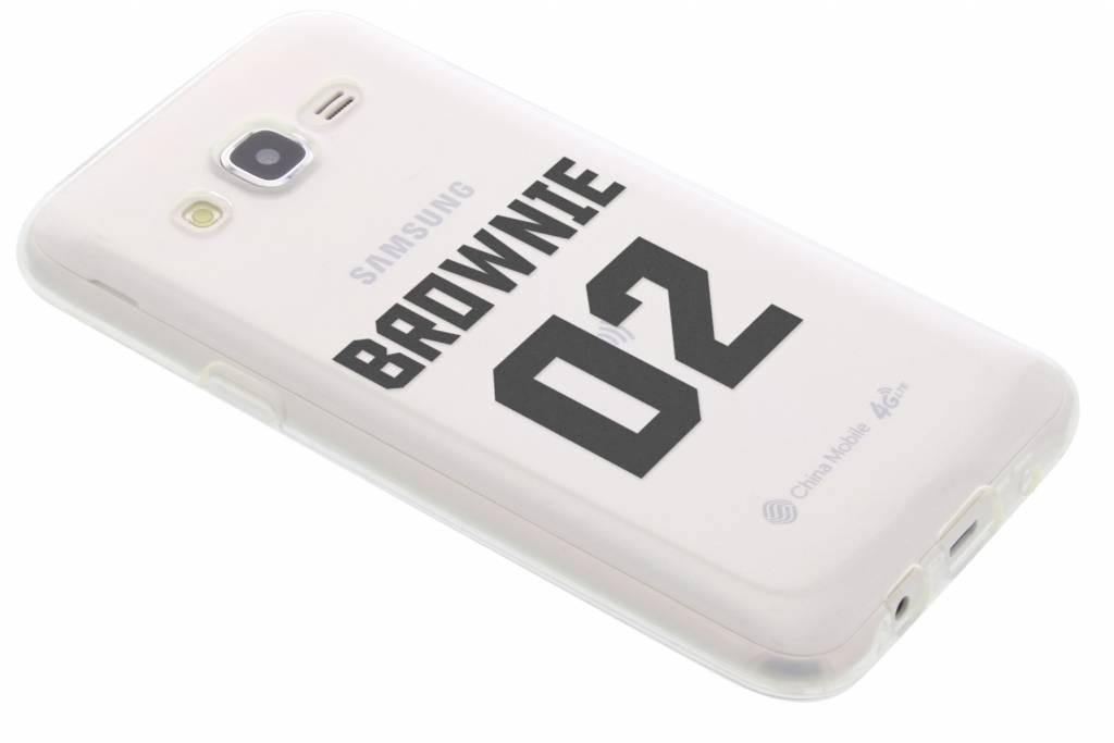 BFF Brownie Love TPU hoesje voor de Samsung Galaxy J5
