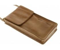 dbramante1928 Leather Lanyard Case - Golden Tan