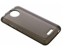 Grijs transparant gel case Motorola Moto C Plus