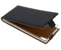 Selencia Zwart Luxe TPU Flipcase Sony Xperia XA1