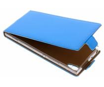 Selencia Blauw Luxe TPU Flipcase Sony Xperia XA1