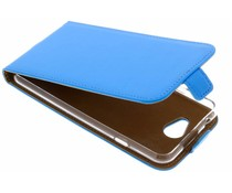 Selencia Blauw Luxe TPU Flipcase General Mobile GM6