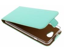 Selencia Mintgroen Luxe TPU Flipcase General Mobile GM6