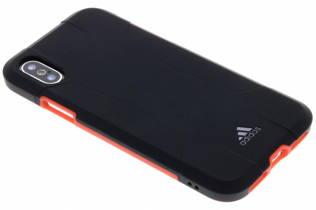 adidas Sports Zwarte Solo Case voor de iPhone Xs / X