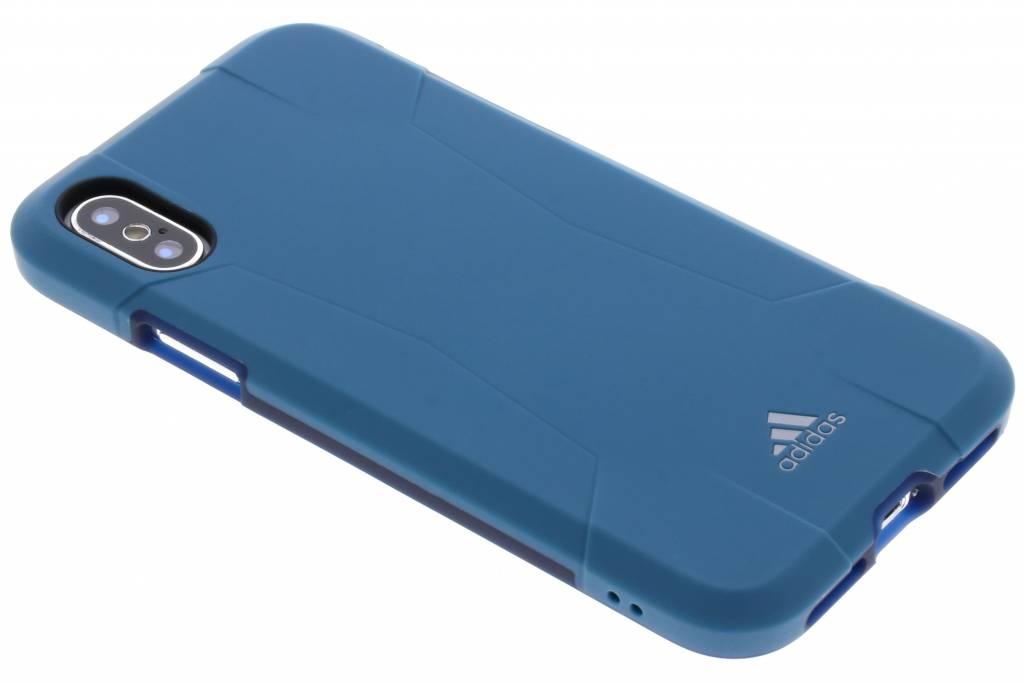 adidas Sports Blauwe Solo Case voor de iPhone Xs / X