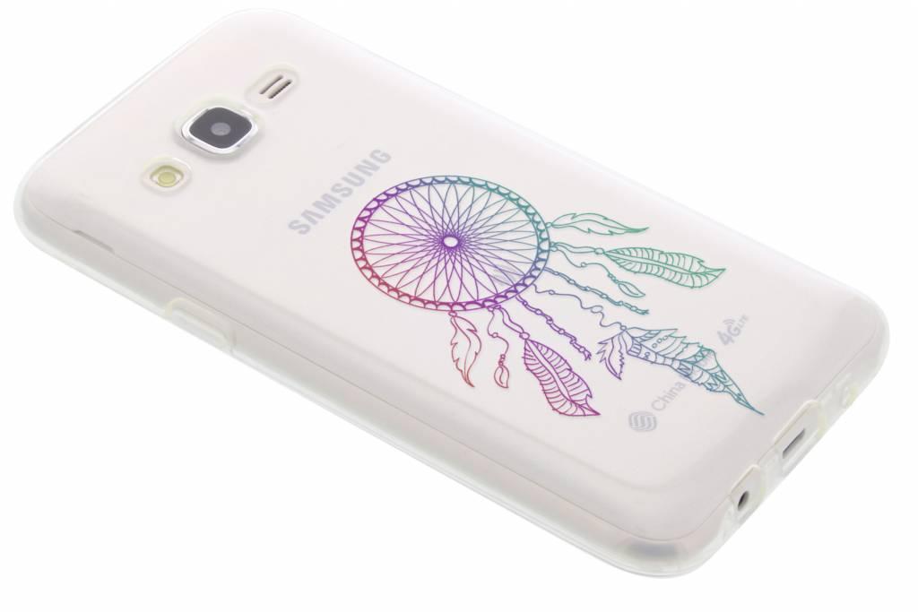 Multicolor dromenvanger design TPU hoesje voor de Samsung Galaxy J5