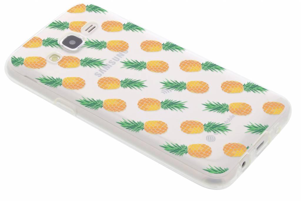 Transparant ananas design TPU hoesje voor de Samsung Galaxy J5