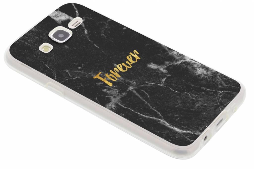 BFF Black Marble Love TPU hoesje voor de Samsung Galaxy J5