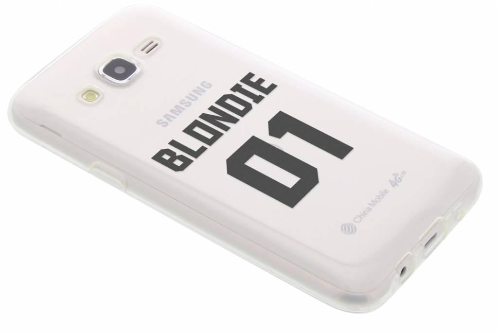 BFF Blondie Love TPU hoesje voor de Samsung Galaxy J5