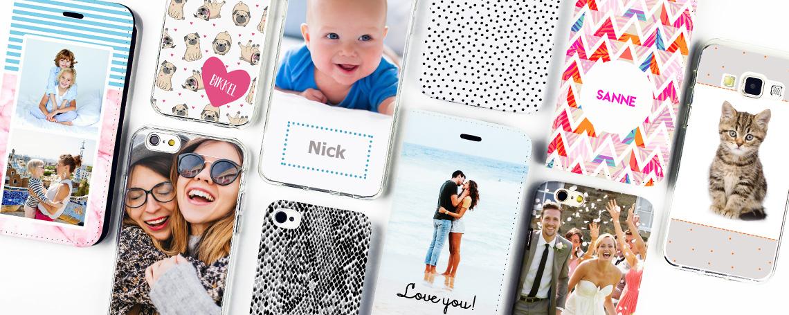 Populair Telefoonhoesje ontwerpen | Smartphonehoesjes.nl #PE65