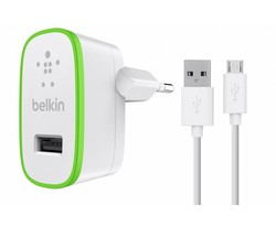 Belkin Boost↑Up Home Charger 2,4A + Micro-USB naar USB-kabel