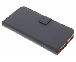 Selencia Grijs Luxe TPU Book Case Motorola Moto Z2 Play