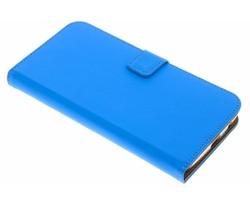 Selencia Blauw Luxe TPU Book Case Motorola Moto Z2 Play