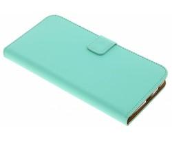 Selencia Mintgroen Luxe TPU Book Case Motorola Moto Z2 Play