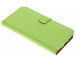 Selencia Groen Luxe TPU Book Case Motorola Moto Z2 Play