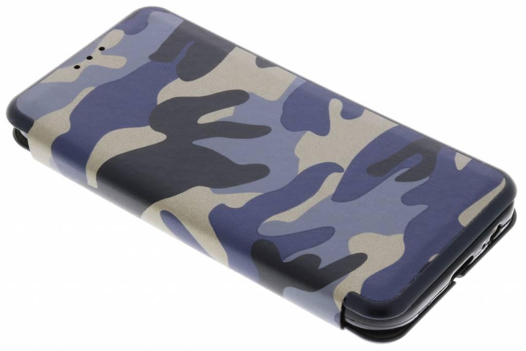 Blauwe Army Slim Folio Case voor de Samsung Galaxy A5 (2017)