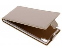 Selencia Goud Luxe TPU Flipcase Sony Xperia XA1