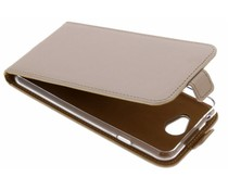 Selencia Goud Luxe TPU Flipcase General Mobile GM6
