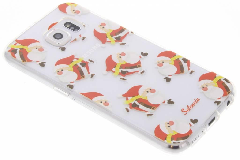 Winter Wonderland Kerstman TPU hoesje voor de Samsung Galaxy S6