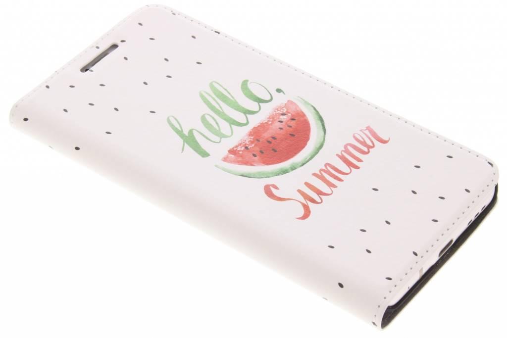 Watermeloen Design Booklet voor de LG G6