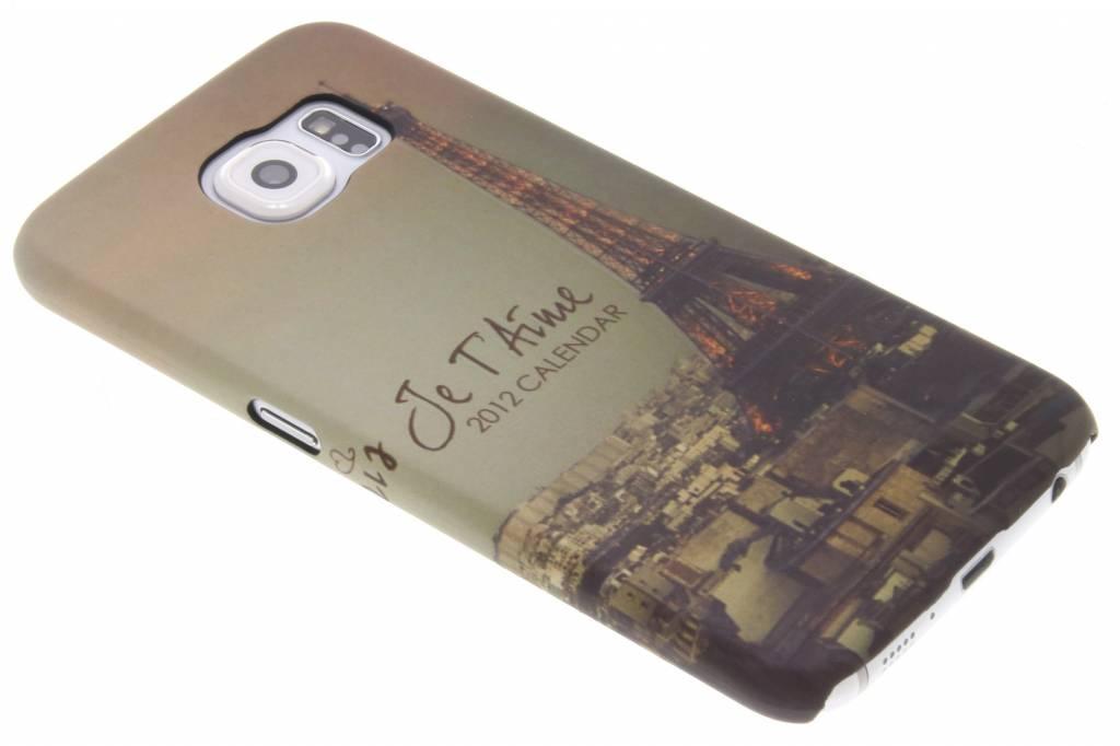 Parijs design hardcase hoesje voor de Samsung Galaxy S6