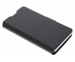 Zwart klassieke booktype hoes Nokia Lumia 625