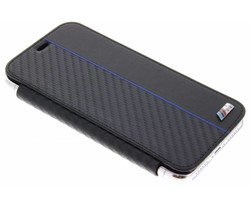 BMW Blauw Booktype Transparant Case iPhone X