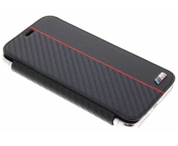 BMW Rood Booktype Transparant Case iPhone X