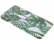 Fabienne Chapot Monstera Leafs Hardcase iPhone X