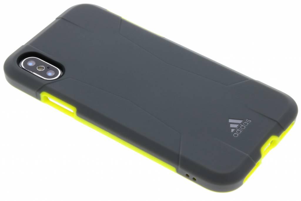 adidas Sports Grijze / Groene Solo Case voor de iPhone Xs / X
