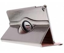 Grijs 360° draaibare glamour tablethoes iPad Air 2