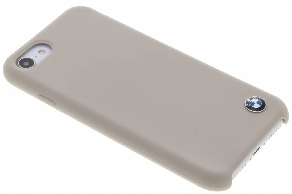 BMW Taupe Silicone Hard Case voor de iPhone 8 / 7 / 6s / 6