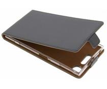 Selencia Luxe TPU Flipcase Sony Xperia XZ1