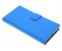 Selencia Blauw Luxe TPU Book Case Sony Xperia XZ1