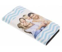 Ontwerp uw eigen LG Q6 booktype hoes (bedrukt)