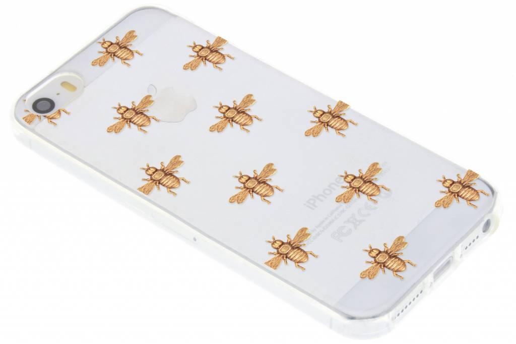 Bijen design TPU hoesje voor de iPhone 5 / 5s / SE