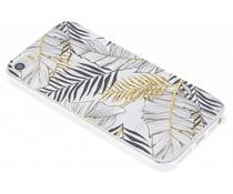 Botanic design siliconen hoesje iPhone 5 / 5s / SE