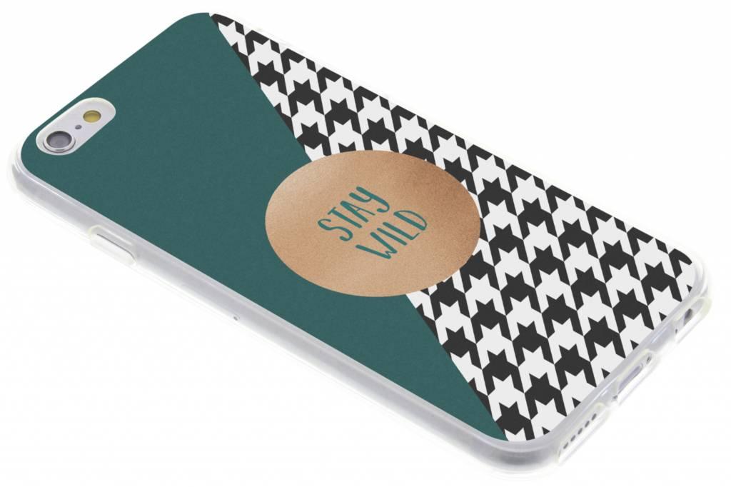 Stay Wild design TPU hoesje voor de iPhone 6 / 6s