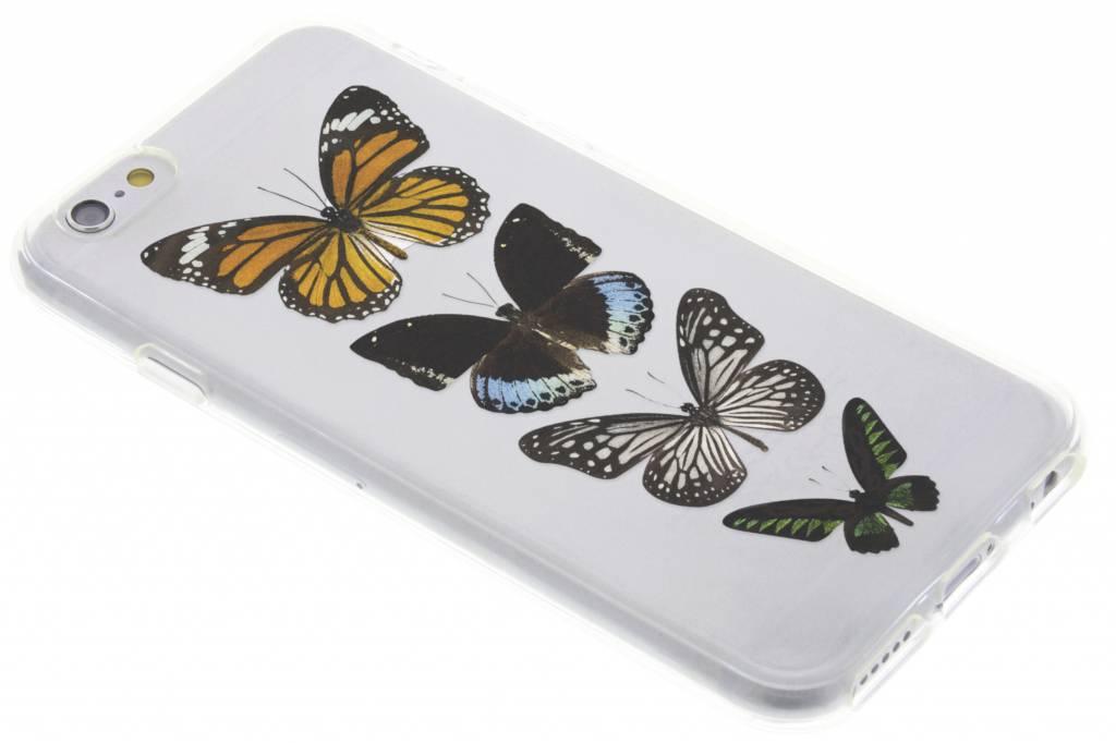 Vlinder design TPU hoesje voor de iPhone 6 / 6s