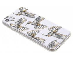 Kolibrie design TPU hoesje iPhone 8 / 7