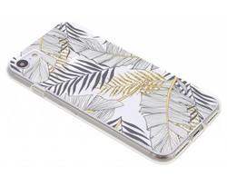 Botanic design siliconen hoesje iPhone 8 / 7