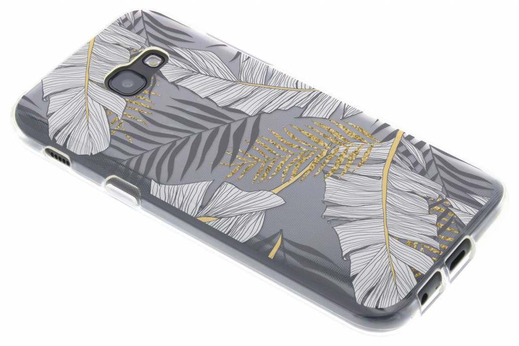 Botanic design siliconen hoesje voor de Samsung Galaxy A5 (2017)