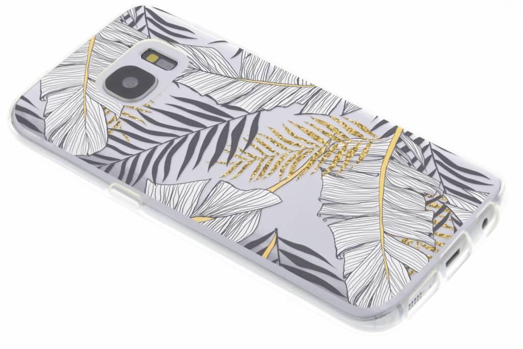 Botanic design siliconen hoesje voor de Samsung Galaxy S7